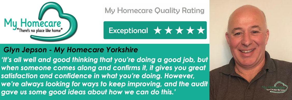 Exceptional Quality Rating – My Homecare Yorkshire
