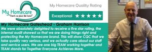 Another 5 star achievement in our Quality Audit – My Homecare Gateshead