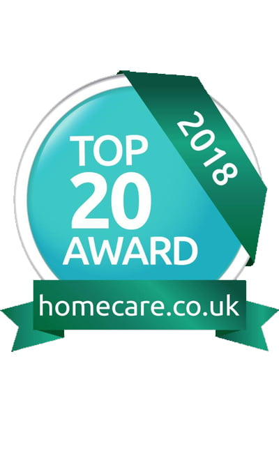Homecare Awards 2018 – We made the cut! My Homecare listed in Top 20 Care Providers